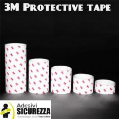 Film adhesivo transparente para la protección de las partes