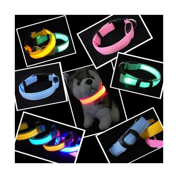07bcb47e1413 Collar de LED para perro y gato venta en línea
