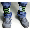 2 Reflective safety ankle bands for runners and cyclists