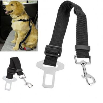 Cintura collare di sicurezza da auto per cani e gatti con aggancio