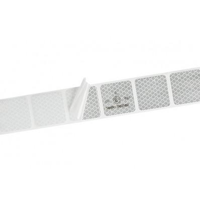 Pellicola adesiva omologata retroriflettente 3M™Diamond Grade 997S per la bordatura dei veicoli telonati