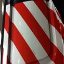 3M scotchlite ™ série 13056 films réfléchissant rouge/blanc
