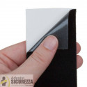 Envoltura de cinta de película adhesiva de terciopelo negro alrededor tuning decoración