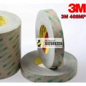 3M ™ 468MP 55MT de tiras de fita de espuma dupla face transparente