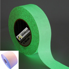 Phosphorescent Anti Slip adhesive tape glows in the dark - 50mm