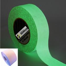 Strisce pellicole adesive antiscivolo 50mm x 5MT fluorescente luminescente