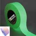 Нескользящая клейкой полоски 50 мм x 5MT светящиеся флуоресцентные