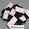 3M™ SJ3550 Dual Lock™ Tape Black VHB Stickers for GOPRO - 25mm