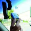 SJ dual lock 3M ™ adhésif simple velcro 3560 4 pièces pour pare-brise de voiture encadre Telepass