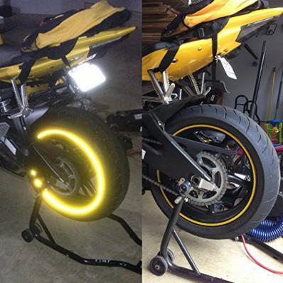 Rodas de bicicleta adesivo refratando tiras da marca 3M ™ faixa reflexiva para roda 6 x 7MT