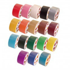 EXTRA-STRONG american duct tape in different sizes and colors - 4 rolls