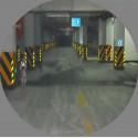 Лента Светоотражающая призматическая известь желтые с черными стрелками для отчетности парковка