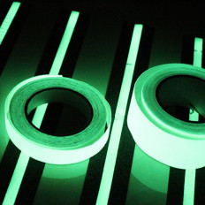 Phosphorescent heat sealing tape (with iron) - 25 / 50mm x 2MT