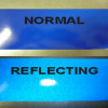 filmes de adesivo reflexivo de 3M scotchlite 580 série azul