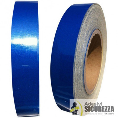 3 m Scotchlite reflektierende Kleber Filme 580 Serie blau