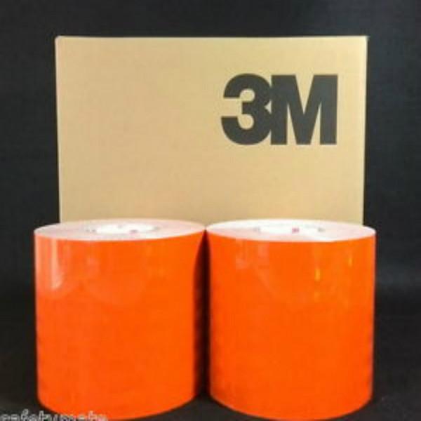 3m Scotchlite 580 Series Orange Reflective Vinyl Tape