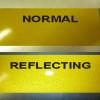 Films adhésifs réfléchissants de 3M scotchlite ™ 580 série jaune