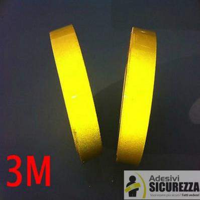 Клейкая пленка серии отражательной 3M Scotchlite ™ 580 желтый