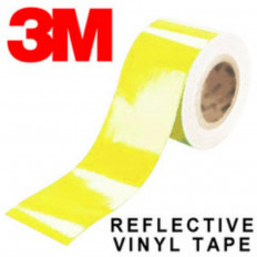 Pellicola adesiva riflettente scotchlite 3M™ serie 580 colore giallo