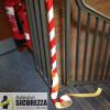 Señal cinta retro-reflectante rojo/blanco 50 mm(5 cm)