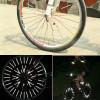 Светоотражающий Светоотражающий велосипедов колеса говорил вел