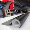 Película adhesiva 4 d fibra de carbono no envuelto look carbono termoformables diferentes medidas burbujas