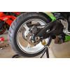 Faixas adesivas em vinilo efeito carbônio para rodas de moto – 7/10mm x 6 Metros