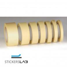 Fita adesiva de papel mascaramento de 80° C resistente.