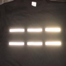 Reflective heat reflective film stripes 13 1 X 10 cm pieces