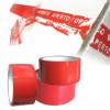 Nastro adesivo anti manomissione colore rosso 50mm x 50 MT antimanomissione