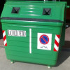Reflective adhesive reflective bands for 3M™ material waste bins 2 PCs. 20x40cm 1 class or class 2