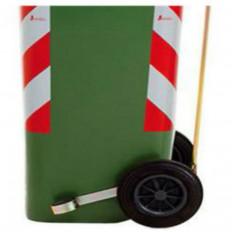 Faixas adesivas refletivas 3M™ branca e vermelha para lixeiras - 2 peças