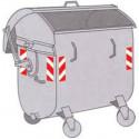 Strisce adesive riflettenti 3M™ per cassonetti rifiuti e differenziata