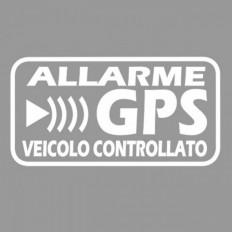 Pegatinas de alarma antirrobo GPS vía satélite para evitar auto robo bicicleta moto caravana camión
