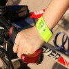 Reflective snap band wrist or ankle fluorescent reflective in 4 colors