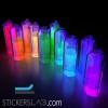 Aditivo en polvo fotoluminiscente a base colorida que brilla en