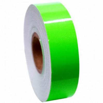 Флуоресцентный клейкая пленка ленты Зеленый высокой видимости