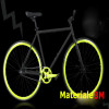 Stripes para jantes adesiva bicicleta fosforescente 3M ™