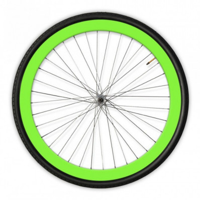 Adhesive Fluorescent strips Bike rims 3M™ brand for wheel stripe 7mm x 8 MT