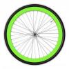 Adhesivo fluorescente tiras bicicleta llantas 3 m ™ marca rueda raya 7mm x 8MT