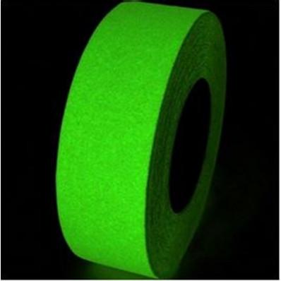Fita adesiva antiderrapante fosforescente para externos e
