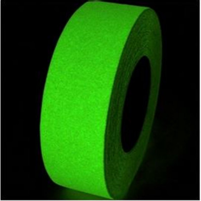 Striscie pellicole adesive antiscivoloTESA 25mm x 5MT fluorescente luminescente