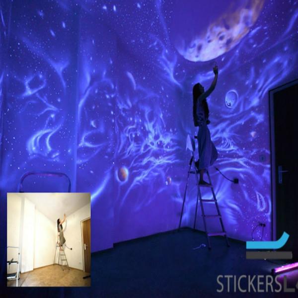 fl ssige acrylfarbe leucht additiv leuchtet im dunkeln f r. Black Bedroom Furniture Sets. Home Design Ideas