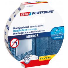 55733 Nastro biadesivo marca TESA in blister per montaggio di specchi 1,5MT x 19mm