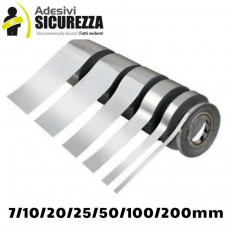 Listra fita auto espelho adesiva prata cromo decoração 25/50 mm x 2MT