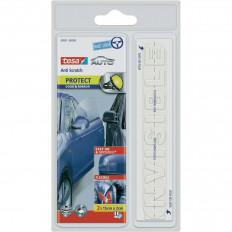 Película protectora transparente tesa ® Anti arañazos coche de puertas y espejos