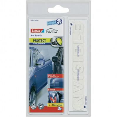 Прозрачная защитная пленка tesa ® анти нуля автомобиль для дверей и зеркал