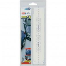 Película protectora transparente tesa ® Anti arañazos coche delantero trasero parachoques y guardabarros y