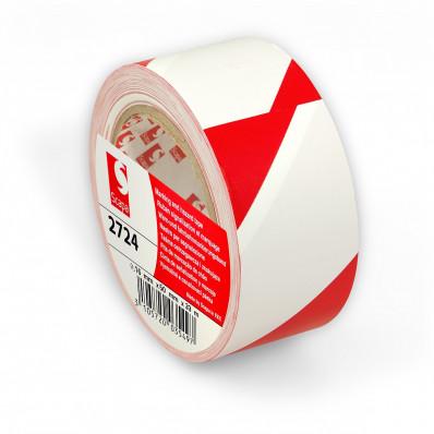 Scapa 2724 Adhesive Hazard Floor Marking Tape - 50mm x 33MT