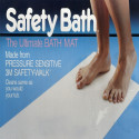 Alfombra adhesiva antideslizante de baño – 100cm x 100cm